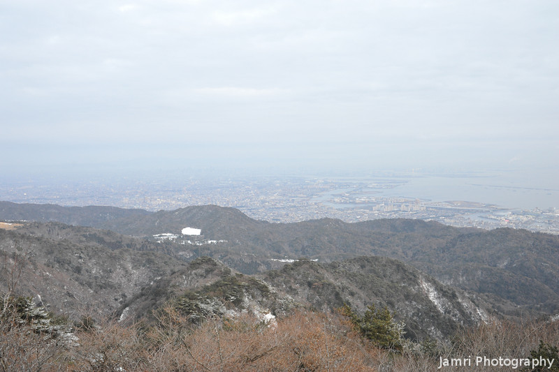 The View from outside the Cafe.<br /> On Mt. Rokko, near Kobe.