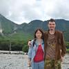 Us in Kamikochi.<br /> Photo by Nobuo Kobayashi.