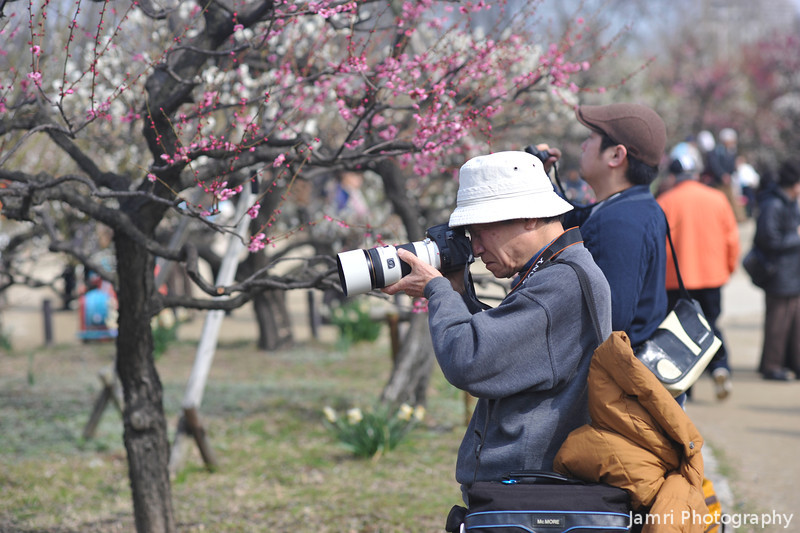 A Serious Photographer.