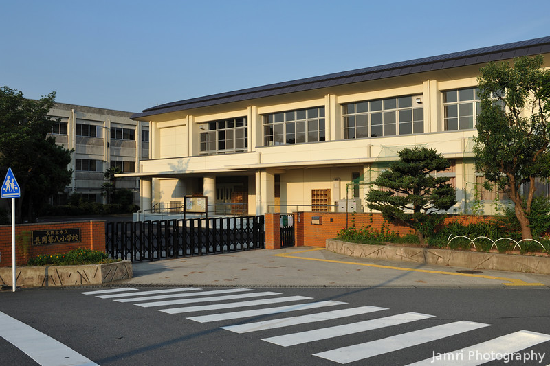 """The Primary School Gymnasium Post Renovations.<br /> Part of Nagaokadaihachi Elementary School.<br /> Here is a shot before the renovations:- <a href=""""http://jamri.smugmug.com/Other/My-New-Life/9777122_kcxTU#731462147_b9DWL"""">http://jamri.smugmug.com/Other/My-New-Life/9777122_kcxTU#731462147_b9DWL</a>"""