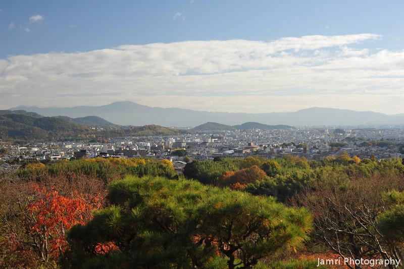 Mt Hiei from Okochi Sanso.