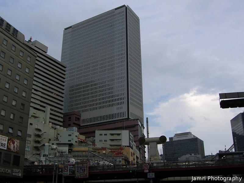 Umeda, Osaka.<br /> Near Yodobashi Camera, towards Hankyu Umeda Station.