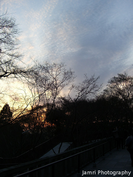 Cloud Patterns.<br /> From Kiyomizu-dera (Kiyomizu Temple).