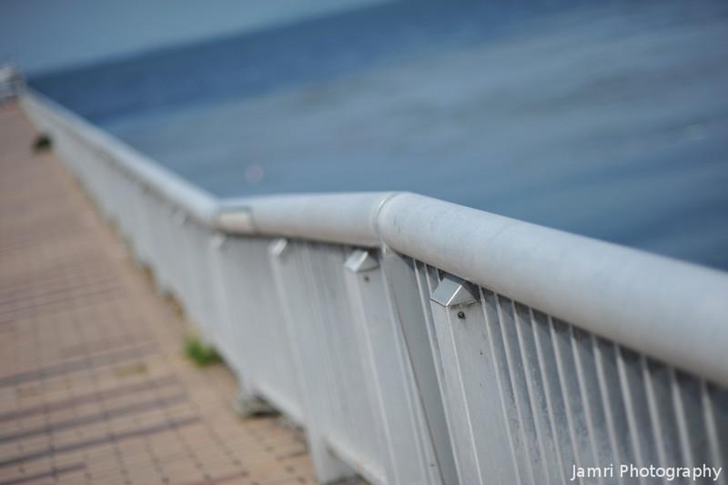 Along the Pier.