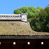 Roof Detail.<br /> A closer look at the construction of the roofs at Kamigamo Shrine.