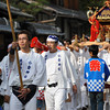 Leading another Mikoshi.