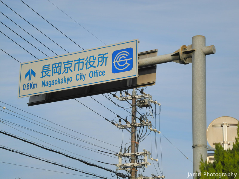 Nagaokakyo City Office Ahead.