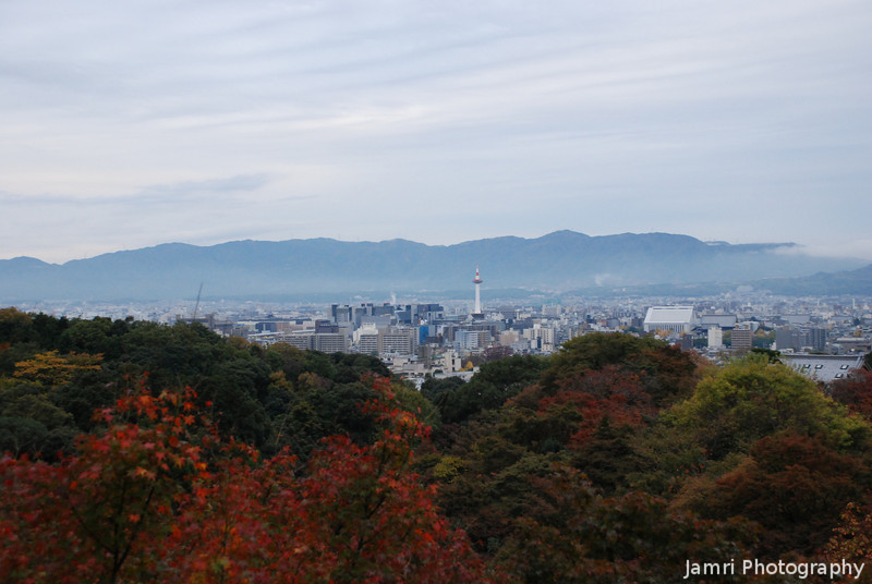 Kyoto City, in the Quiet of the Morning.<br /> From Kiyomizu-dera (Kiyomizu temple) in Higashiyama, Kyoto.