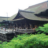 Kiyomizu Temple in the Summer.<br /> We took our friends to see Kiyomizu temple which is one of Kyoto's most famous temples. It was also nominated for a wonder of the world.