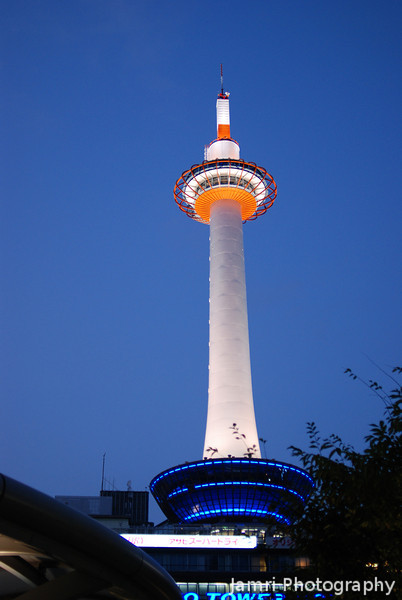 "Kyoto Tower.<br /> The Kyoto Tower was designed to look like a candle, because Kyoto is considered spiritually to be the place of light guiding Japan. When this was pointed out to me, I got the inspiration to name our church Shining Lights Church because we as Christians are the light of the world ""Ye are the light of the world. A city that is set on an hill cannot be hid"" (Matthew 5:14, KIV). As small group of believers in Kyoto if live out our lives as Christ's lights we can be the real light to Japan and even to the ends of the Earth."