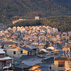 "Houses on a hill.<br /> Taken from ""Fune Mansion""."
