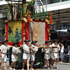 The Lion Float.<br /> As far as I know Lions have not lived in the wild in Japan. Another tapestry with a mysterious origin.