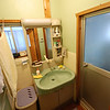Bathroom (Changing Area)<br /> This is the part of the bathroom for changing, drying, etc. In Japan the bathroom is separated into two rooms.