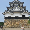 A Portrait of the Main Building.<br /> Of Hikone-jo (Hikone Castle), Hikone, Shiga.