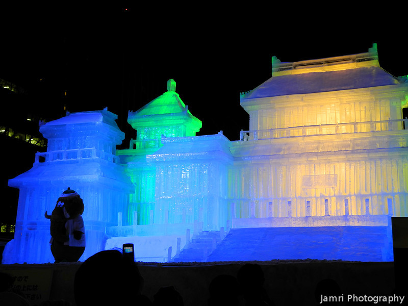 Ice Palace.<br /> A replica of the palace in Taiwan.