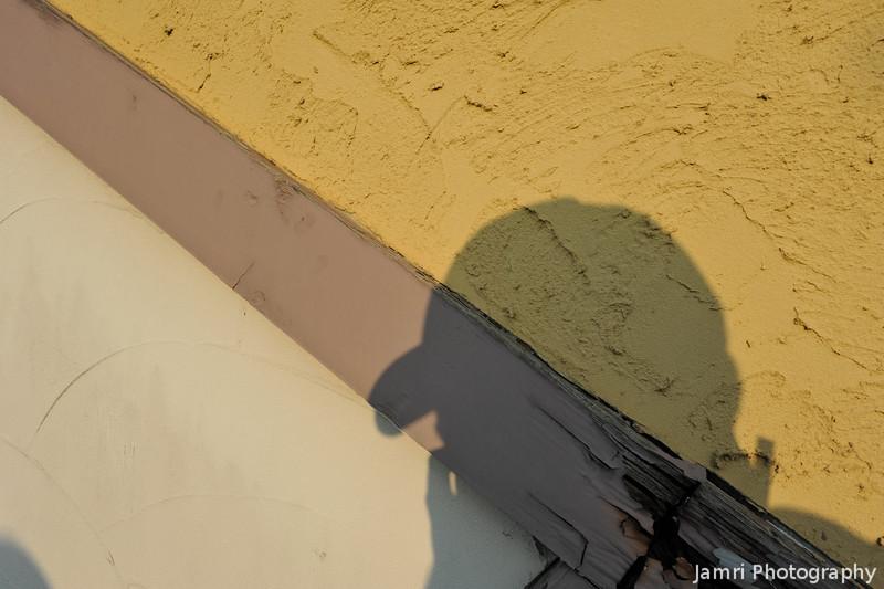 Shadow Self Portrait.