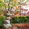 A lantern in the forest.<br /> At Jojakko-ji (Jojakko Temple), Arashiyama, Kyoto.<br /> Note: Film Shot, Nikon F80 + 24f/2.8mm + Fujicolor Reala ACE 100.