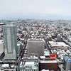 View to the North.<br /> From the JR Sapporo Building.