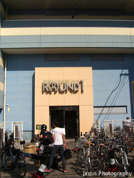"Round 1.<br /> A bowling alley in the heart of Kyoto City. When I saw the name I couldn't help but think of Mortal Kombat ""Round 1... Fight!"""