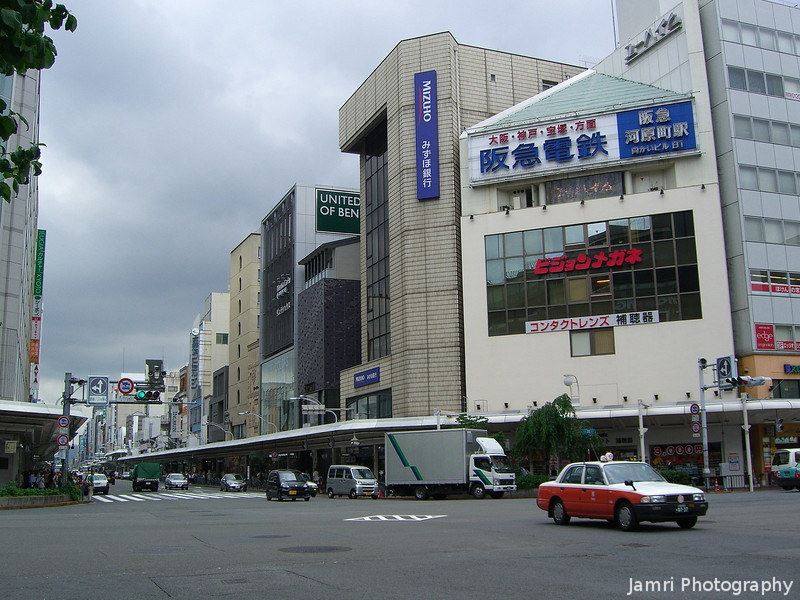 Shijo Kawaramachi Intersection.