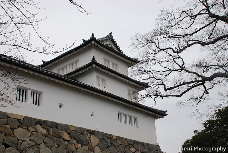 Guard Turret.<br /> At Hikone-jo (Hikone Castle) in Shiga-ken (Shiga Prefecture).