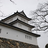 Guard Turret.<br /> At Hikone-jo (Hikone Castle) in Shiga-ken (Shiga Prefecture).