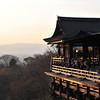 Towards the Main Stage.<br /> At Kiyomizu-dera (Kiyomizu Temple), Higashiyama, Kyoto.