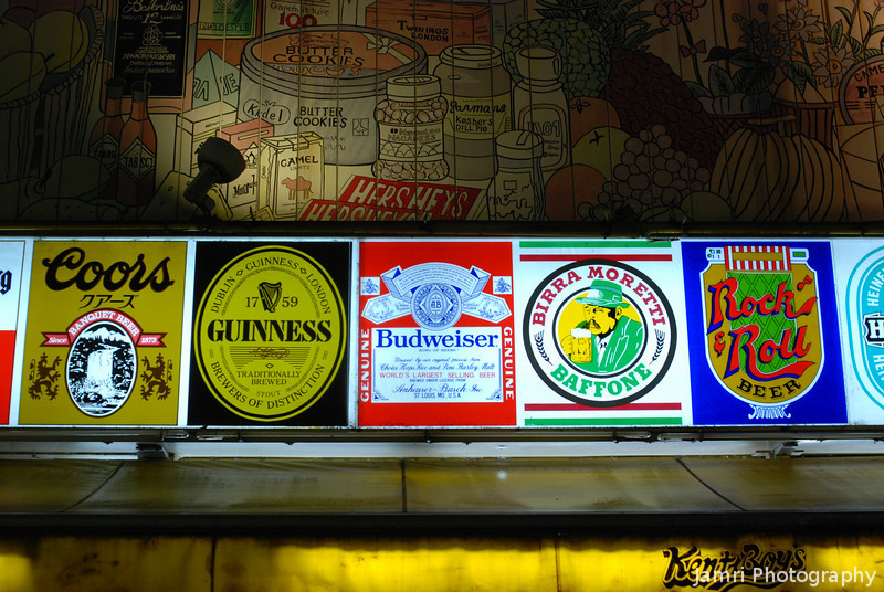Many Kinds of Beer.