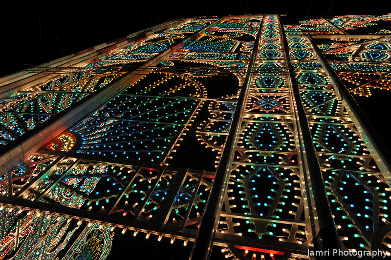 The Supporting Structure.<br /> Of the lights at Kobe Luminarie 2011.