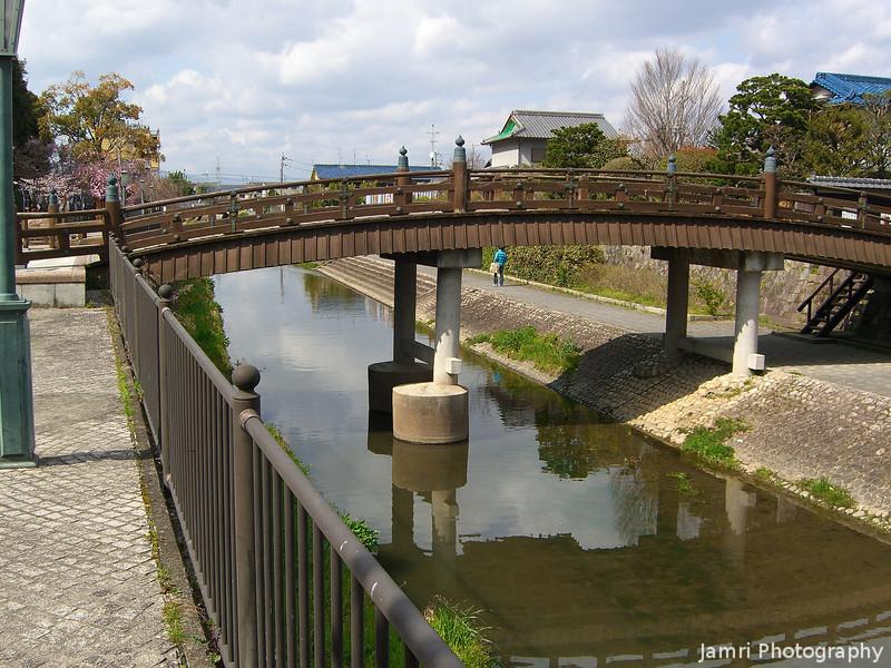 Bridge in Yawata.
