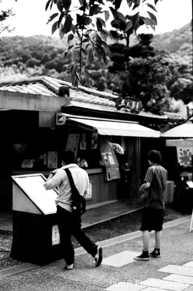 At an Ice Cream Store.<br /> Note Film Shot: Nikon F80 + 50f/1.8 + Orange Filter + Fujifilm Neopan Acros