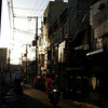 Alley way.<br /> Behind the Rhino Hotel in Saiin, Kyoto.