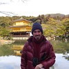 Me at Kinkaku-ji.<br /> God gave us a vision of the Temple of the Golden Pavilion many times over to confirm he was sending us to Kyoto. I took Jonathan and Jayden there to see it. Photo by Jonathan Tan.