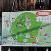 Map of Kurama-yama.<br /> We were about to climb Kurama-yama so it made sense to check the map first.<br /> Note: Circular Polarising Filter Used.