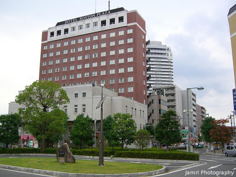 Hotel Boston Plaza.<br /> In Kusatsu, Shiga Prefecture.