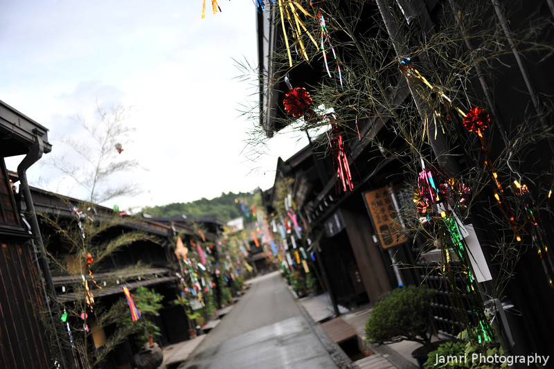 More of the Tanabata decorations in Takayama.