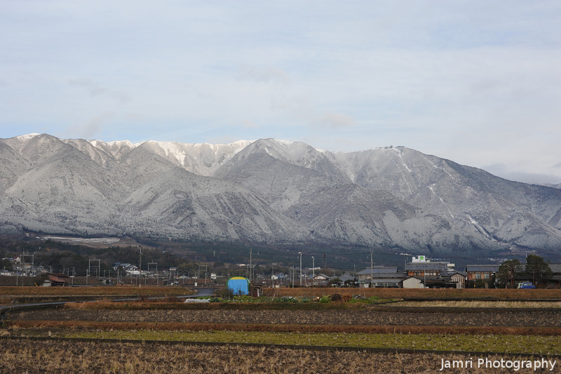 A Field and Mt. Horai.