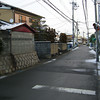 A View Up Saigokaido.<br /> On the Snow Accumulation Day.