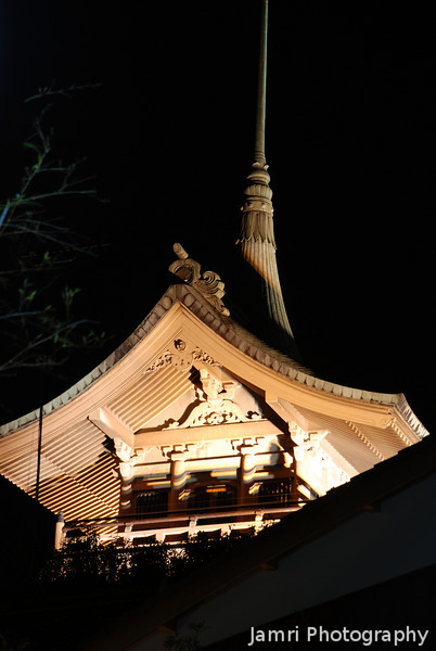 Gesshin-in Temple.<br /> One of the temples lit up during the Higashiyama Hanatouro.