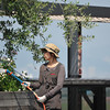 The Watering Lady.<br /> At Itami Airport.