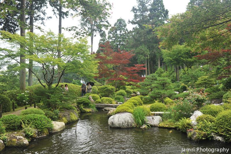 The little Garden within the Garden.<br /> At Mimuroto-ji (a Buddhist Temple) near Uji, Kyoto.