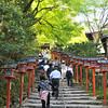 The Stairway to Kifune Shrine.<br /> Note: Circular Polarising Filter Used.