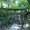Gateway to the Inner Sanctum.<br /> This torii (gateway) marks the beginning of the inner sanctum of Nagaoka Tenmangu Shrine.