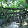 Gateway to the Inner Sanctum.<br /> This torii (gateway) marks the beginning of the inner sanctum of Nagaoka Tenmangu Shrine.