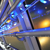 Along the Railing.<br /> Of the walkway from Nagaoka JR Station to Heiwado during the Festive Season Light Up.