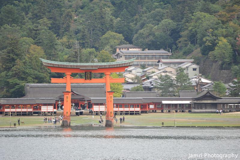 The Big Torii and the Shrine.