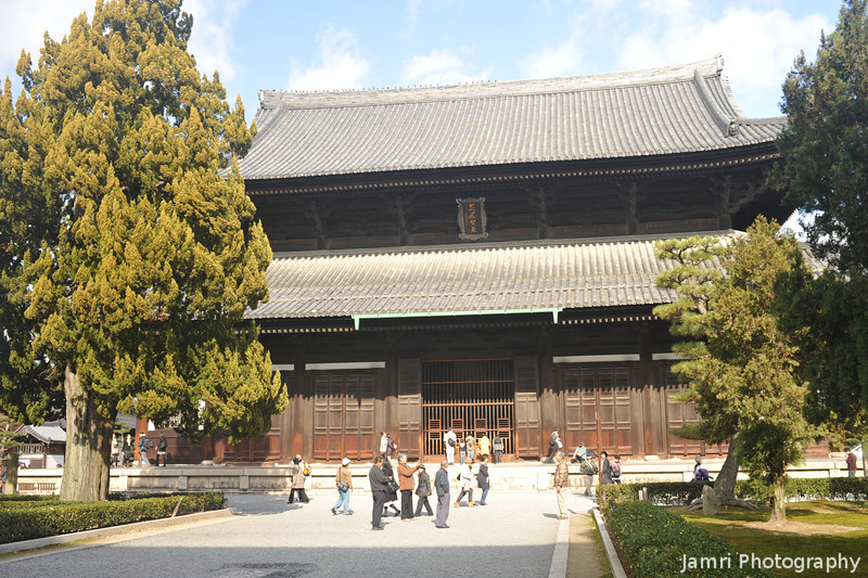A Big Building.<br /> At Tofuku-ji (Tofuku Temple).