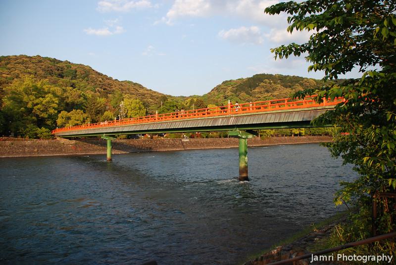 The Big Foot Bridge.