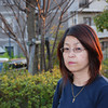 Highlights.<br /> The sun was creating nice highlights in Ritsuko's hair.