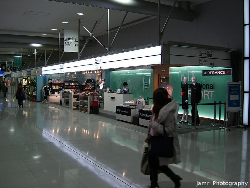 Souvenir Shop.<br /> At Kansai Airport